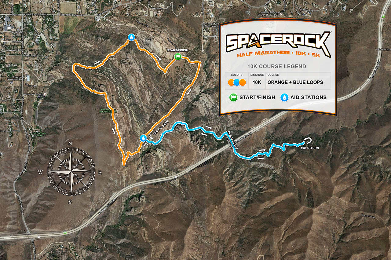 10K Course Map