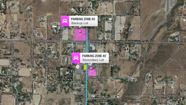 Parking Zones 2 & 3
