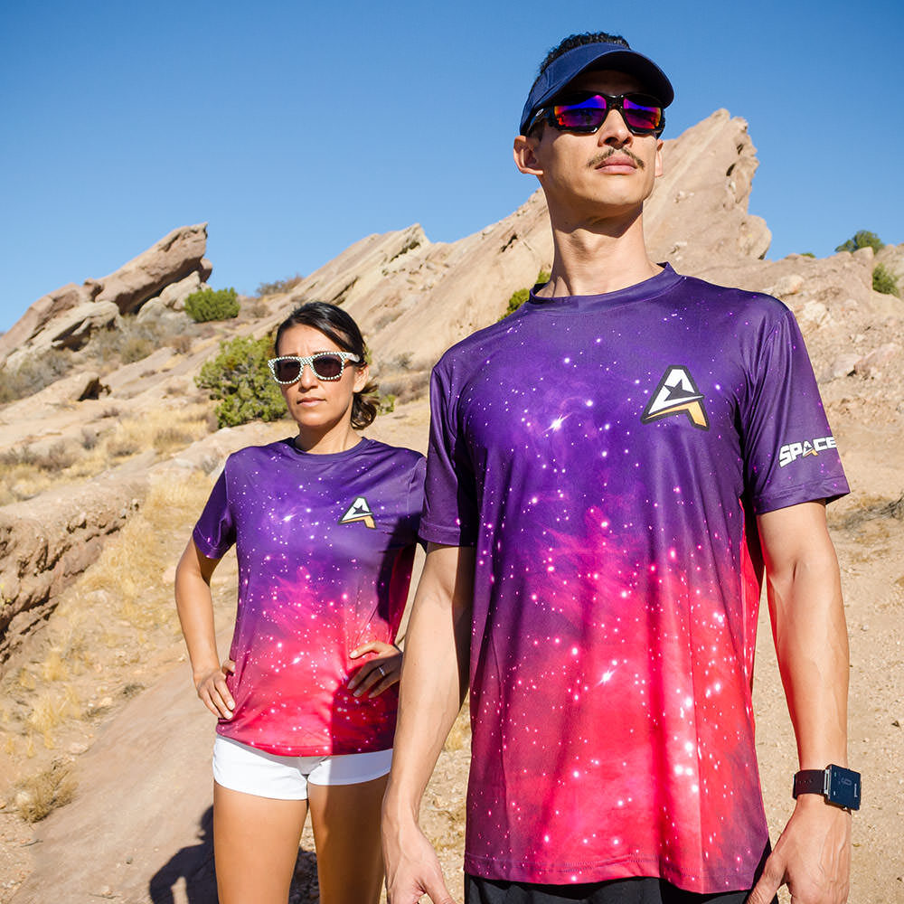 SPACEROCK Galaxy Shirt